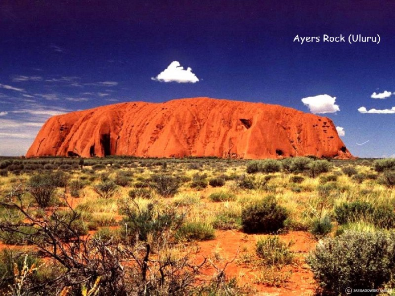 RED CENTRE: AYERS ROCK,MONTI OLGAS, KINGS CANYON,ALICE SPRINGS 1